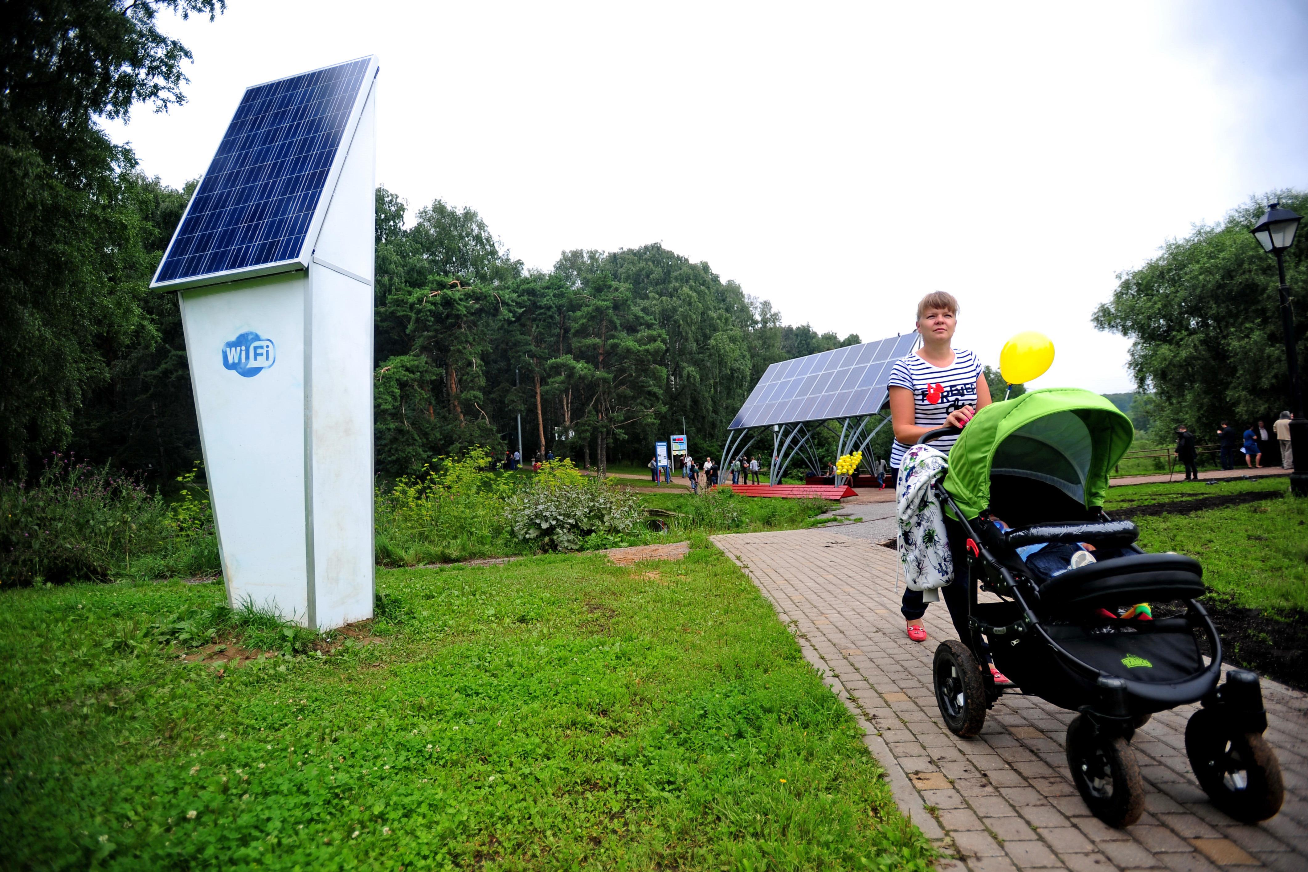 Во дворах Ставрополя появятся фонари на солнечных батареях