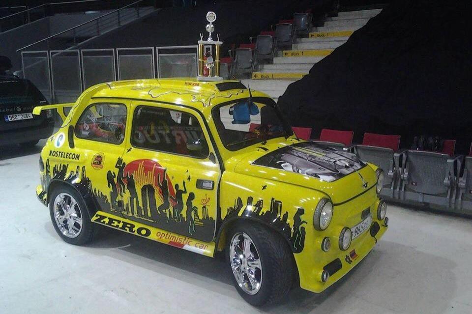 «Запорожец» из Северной Осетии стал призером чемпионата Европы по автотюнингу