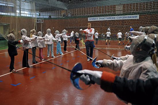 Школа пофехтованию иплаванию откроется вМахачкале
