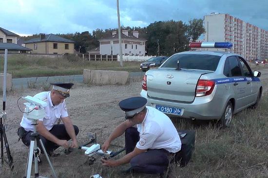 НаСтаврополье занарушителями на трассах  будут следить квадрокоптеры