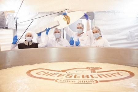 4-тонный чизкейк изСтаврополя официально занесён вкнигу рекордов Гиннеса