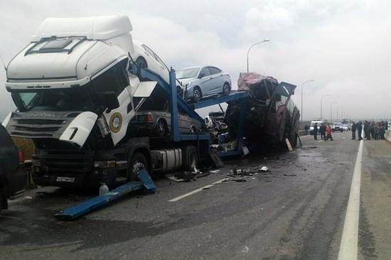 Один изпострадавших срейса автобуса Москва-Ереван выписан из клиники
