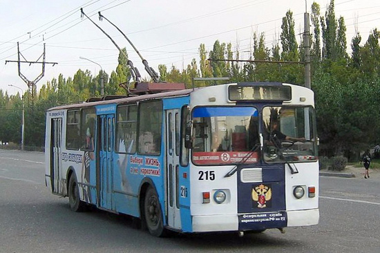 Монтаж троллейбусной линии между Махачкалой иКаспийском завершен