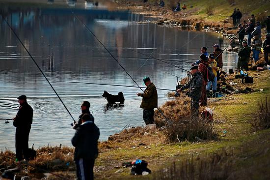 ВЕссентуках стартует обычное соревнование рыболовов-любителей «Клюет»